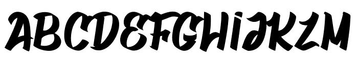 Gatalike_Personal Use Font UPPERCASE