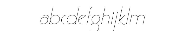 GatsbyFLF-Italic Font LOWERCASE