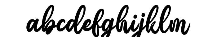 Gattely DEMO Font LOWERCASE