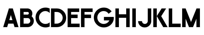 GauFontExpositionW Font UPPERCASE