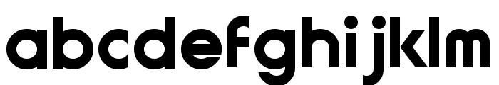 GauFontExpositionW Font LOWERCASE