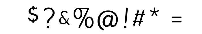 Gauntlet Classic Font OTHER CHARS