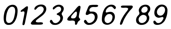 Gaussian-Blur-Italic Font OTHER CHARS