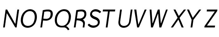 Gautama-Italic Font UPPERCASE