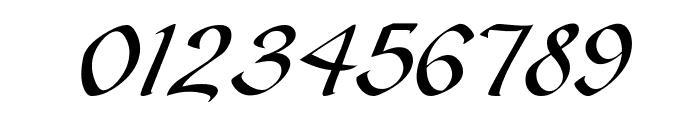 Gaze Italic Font OTHER CHARS