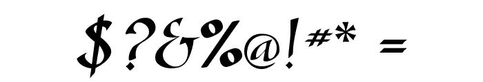 GazelleFLF Font OTHER CHARS