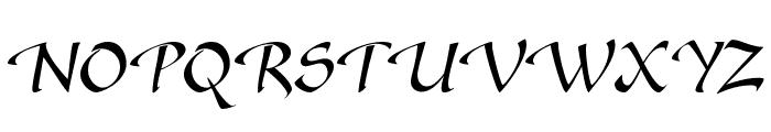 GazelleFLF Font UPPERCASE
