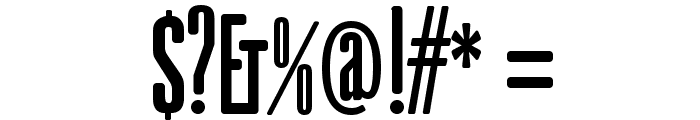 gAbAcHiTA-FFP Font OTHER CHARS