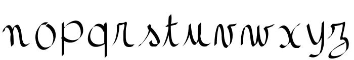 gaellefont403 Font LOWERCASE