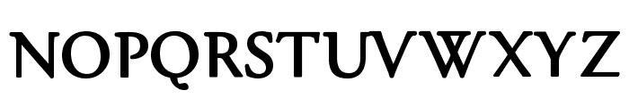 gara Black Font UPPERCASE