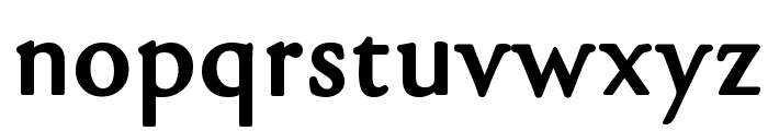 gara Black Font LOWERCASE