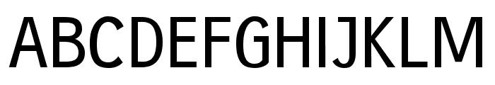 gausshauss medium Font UPPERCASE
