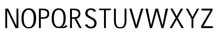 gausshauss regular Font UPPERCASE