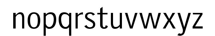 gausshauss regular Font LOWERCASE