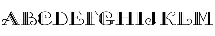 Gallery Font LOWERCASE