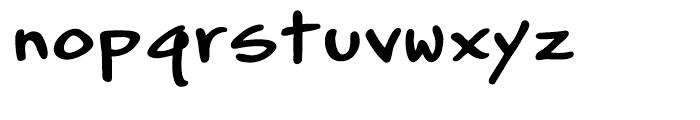 Gabriel Bautista Lito Regular Font LOWERCASE