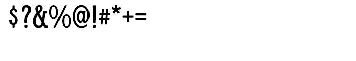 Galadriel Regular Font OTHER CHARS