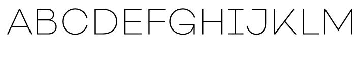 Galano Classic Alt ExtraLight Font UPPERCASE
