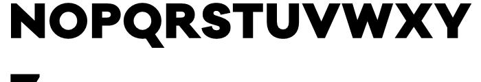 Galano Classic Black Font UPPERCASE