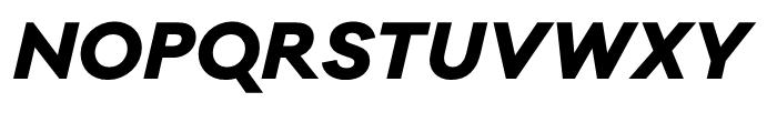 Galano Classic ExtraBold Italic Font UPPERCASE
