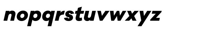 Galano Classic ExtraBold Italic Font LOWERCASE