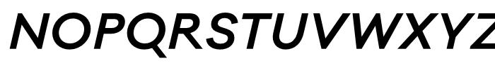 Galano Classic SemiBold Italic Font UPPERCASE