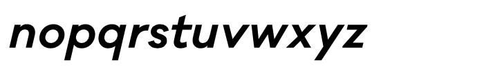 Galano Classic SemiBold Italic Font LOWERCASE