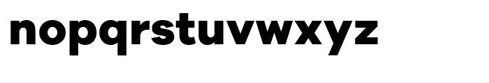 Galano Grotesque Alt ExtraBold Font LOWERCASE