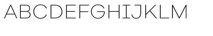 Galano Grotesque Alt ExtraLight Font UPPERCASE