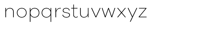 Galano Grotesque Alt ExtraLight Font LOWERCASE