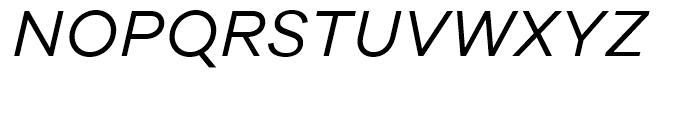 Galano Grotesque Alt Italic Font UPPERCASE