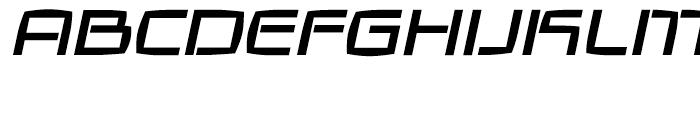Galaxie Medium Italic Font UPPERCASE