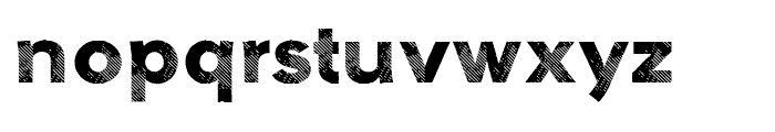 Galeb Texture One Font LOWERCASE