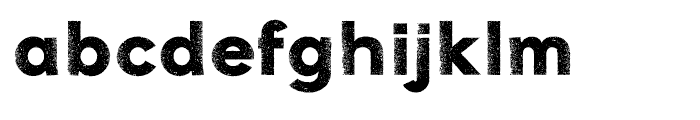 Galeb Texture Two Font LOWERCASE