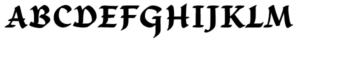 Gallegos Bold Font UPPERCASE