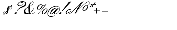 Gamundia Pro Regular Font OTHER CHARS