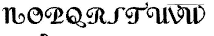 Gans Fulgor Humanista Lined Font UPPERCASE