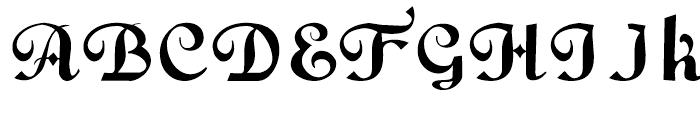 Gans Fulgor Humanista Regular Font UPPERCASE