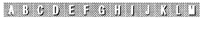 Gans Radio Lumina Regular Font UPPERCASE