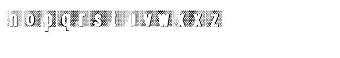Gans Radio Lumina Regular Font LOWERCASE