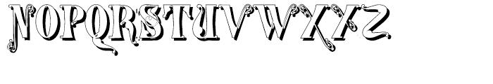 Gans Tipo Adorno Solid Shadow Font UPPERCASE