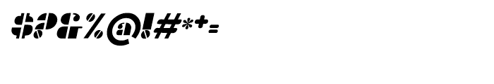 Gans Titania Italic Font OTHER CHARS