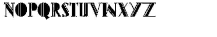 Gans Titania Lined Font UPPERCASE