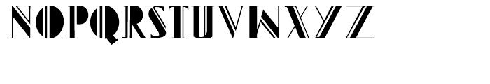 Gans Titania Regular Font UPPERCASE