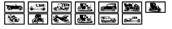 Gans Transportation Font UPPERCASE