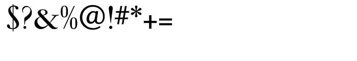 Garamond Bold Ludlow Font OTHER CHARS