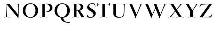 Garamond Bold Ludlow Font UPPERCASE