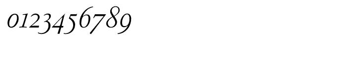 Garamond FB Text Light Italic Font OTHER CHARS