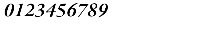 Garamond Premier Semibold Italic Font OTHER CHARS