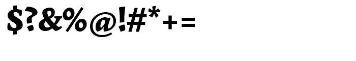 Garibaldi Black Font OTHER CHARS